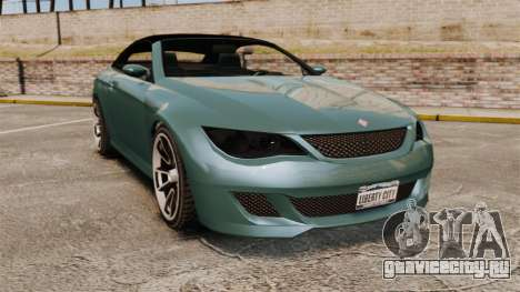 GTA V Zion XS Cabrio для GTA 4