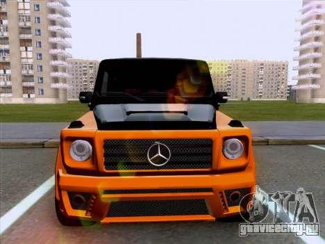Mercedes-Benz G55 для GTA San Andreas вид сзади слева