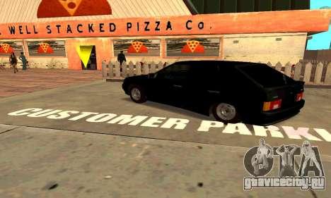 ВАЗ 2114 для GTA San Andreas вид сбоку