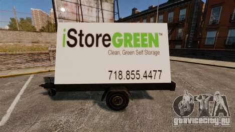 Новые рекламные щиты на колёсах для GTA 4 четвёртый скриншот