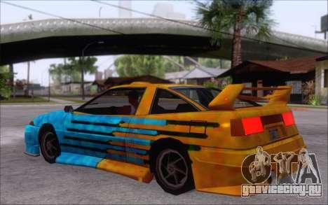 Uranus Fix для GTA San Andreas вид сзади
