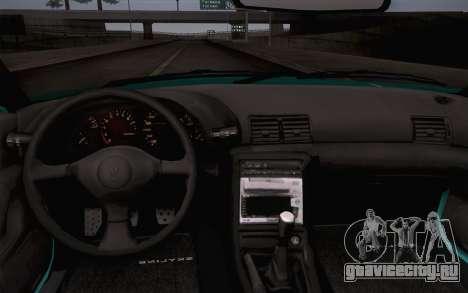 Nissan Skyline R32 Stella для GTA San Andreas вид сзади