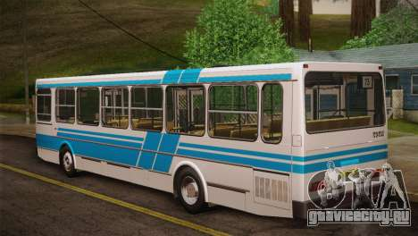 ЛиАЗ 5256.00 Скин-пак 2 для GTA San Andreas вид сзади