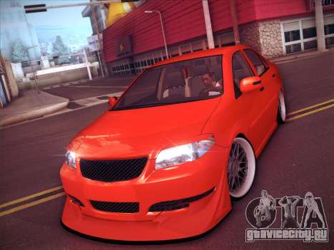 Toyota Vios Modified Indonesia для GTA San Andreas