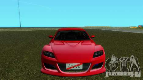 Mazda RX8 Type 1 для GTA Vice City вид слева