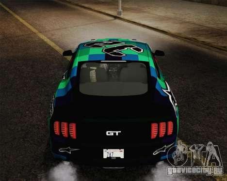 Ford Mustang GT 2015 для GTA San Andreas
