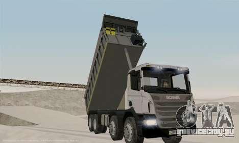 Scania P420 для GTA San Andreas вид сверху