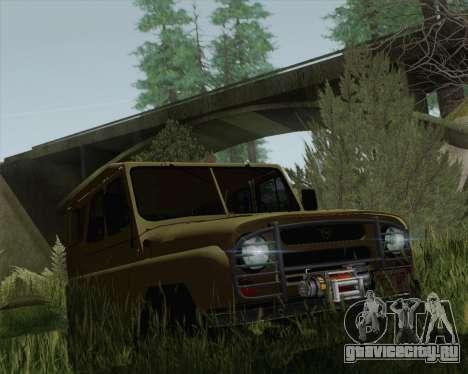 UAZ 31512 для GTA San Andreas вид справа