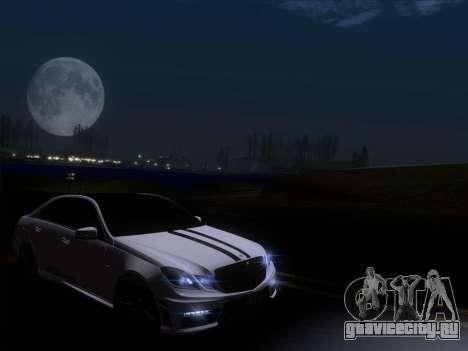 Mercedes-Benz E63 AMG 2011 Special Edition для GTA San Andreas вид снизу