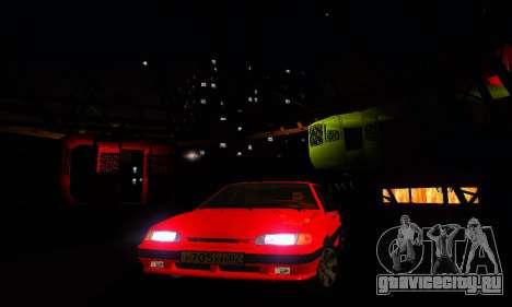 ВАЗ 2115 Light Tuning для GTA San Andreas вид сверху