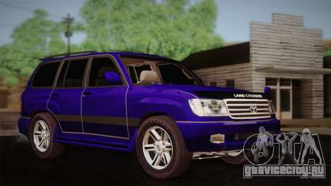 Toyota Land Cruiser 100VX для GTA San Andreas