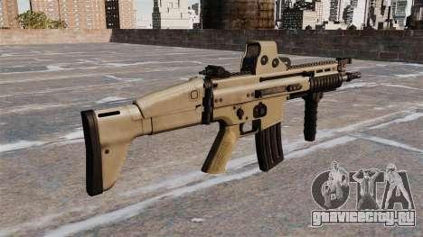 Штурмовая винтовка FN SCAR-L для GTA 4 второй скриншот