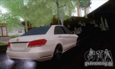Mercedes-Benz W212 AMG для GTA San Andreas вид слева