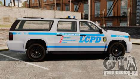 GTA V Declasse Police Ranger 3500PE [ELS] для GTA 4 вид слева