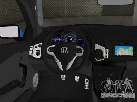 Honda CR-Z 2010 для GTA Vice City вид сзади слева