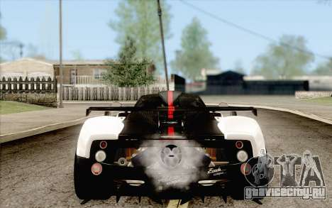 Pagani Zonda Cinque для GTA San Andreas вид слева