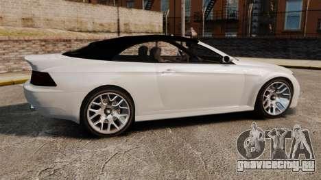 GTA V Zion XS Cabrio [Update] для GTA 4 вид слева