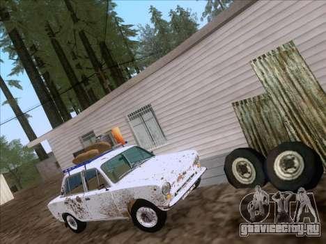 ВАЗ 21011 Дачная для GTA San Andreas вид сзади слева