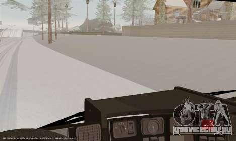 Scania P420 для GTA San Andreas салон