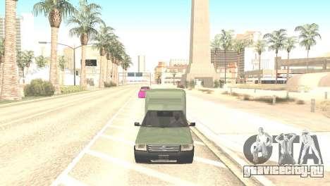 Fiat Fiorino Fire 07 для GTA San Andreas вид справа