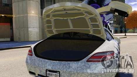 Mercedes Benz SLS AMG 2011 v3.0 [EPM] для GTA 4 салон