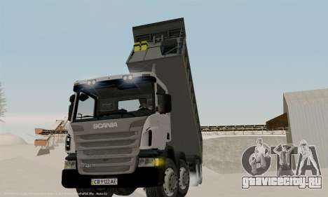 Scania P420 для GTA San Andreas вид сбоку