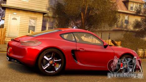 Porsche Cayman 981 S v2.0 для GTA 4 салон