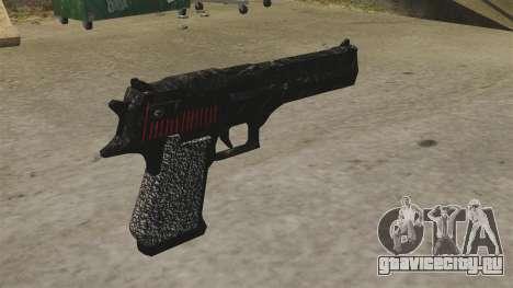 Пистолет Desert Eagle Propa Gangsta для GTA 4 второй скриншот