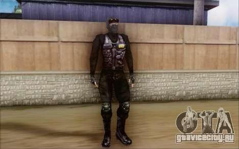SWAT из Postal 2 для GTA San Andreas