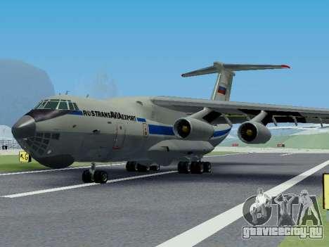 Ил-76ТД v 1.0 для GTA San Andreas