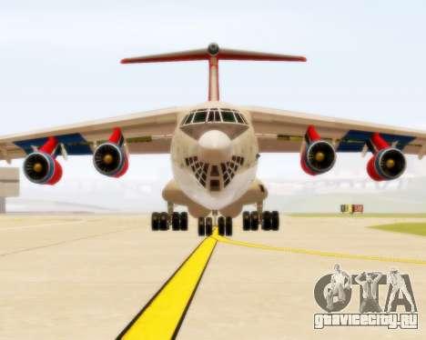 Ил-76ТД Самара для GTA San Andreas вид слева