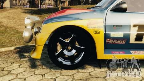 MG Metro 6r4 для GTA 4 вид справа