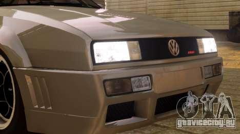 Volkswagen Corrado VR6 1995 для GTA 4 вид сзади