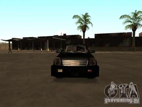 GMC Yukon ATTF для GTA San Andreas вид сбоку