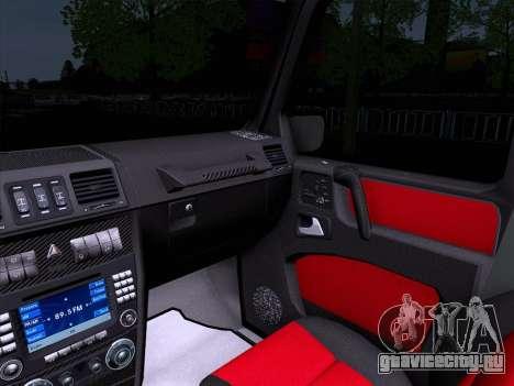 Mercedes-Benz G55 для GTA San Andreas вид сзади