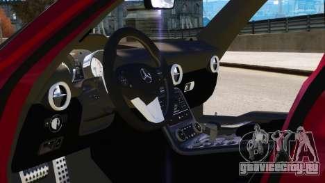 Mercedes Benz SLS AMG 2011 v3.0 [EPM] для GTA 4 двигатель