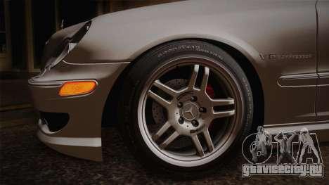 Mercedes-Benz C32 AMG 2004 для GTA San Andreas вид сзади