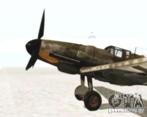 Bf-109 G6 для GTA San Andreas