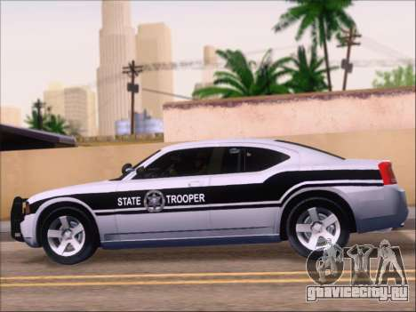 Dodge Charger San Andreas State Trooper для GTA San Andreas салон