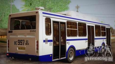 ЛиАЗ 5256.57 2007 для GTA San Andreas вид слева