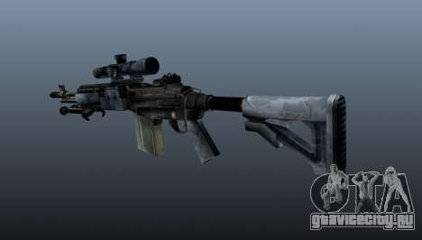 Снайперская винтовка M21 Mk14 v2 для GTA 4 второй скриншот