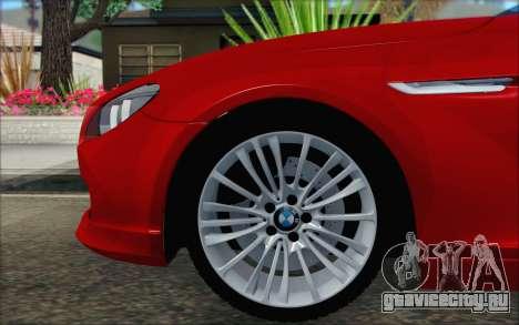 BMW 6 Gran Coupe v1.0 для GTA San Andreas вид сзади слева