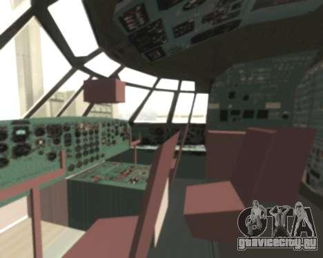 Ил-76ТД Самара для GTA San Andreas вид сзади