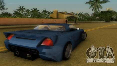 Toyota MR-S Veilside Hardtop для GTA Vice City вид справа