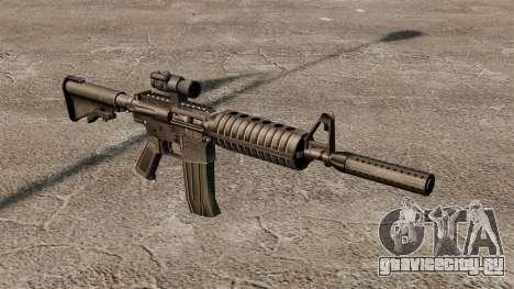 Автомат M4 CAR-15 для GTA 4