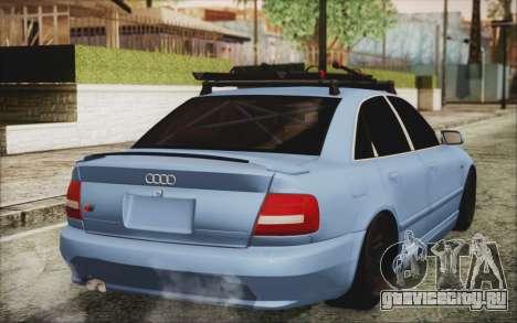 Audi S4 Hellaflush для GTA San Andreas вид слева