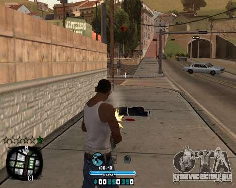 C-HUD Old Tawer для GTA San Andreas