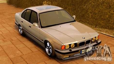 BMW M5 E34 1995 для GTA 4 вид справа