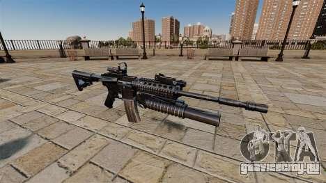 Автоматический карабин M4A1 SOPMOD для GTA 4