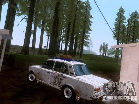 ВАЗ 21011 Дачная для GTA San Andreas вид слева